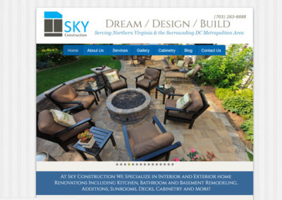 Sky-Construction-Website-by-Fairfax-Design-Solutions