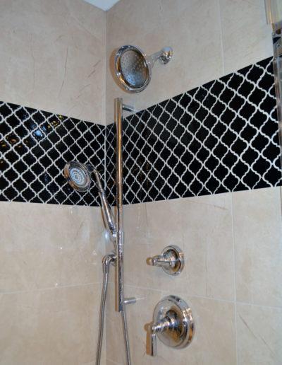 Black-shower-mosaic-by-Fairfax-Design-Solutions